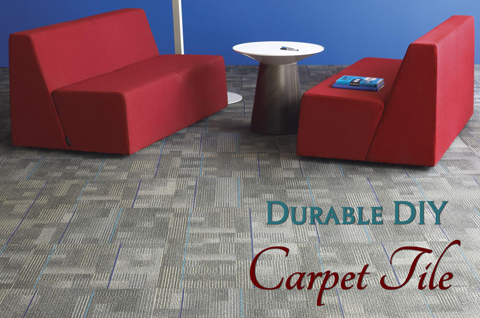 Durable DIY Carpet Tile